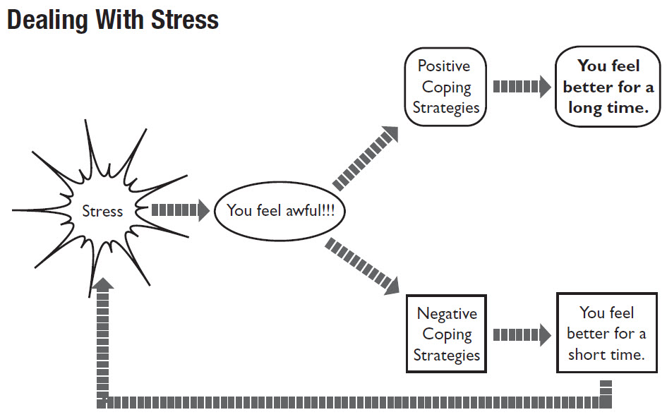 an essay on coping up with stress Personal data, coping strategies, stress and academic anxiety , the stress and   3) emotion focused strategies involve realizing pent-up emotions, distracting.