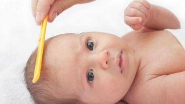 costra láctea en bebés