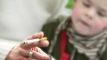 Second hand ciggerette smoke illness adults