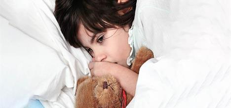 Child not being able to sleep