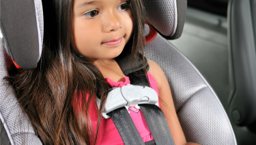 Forward Facing Car Seat Little Girl