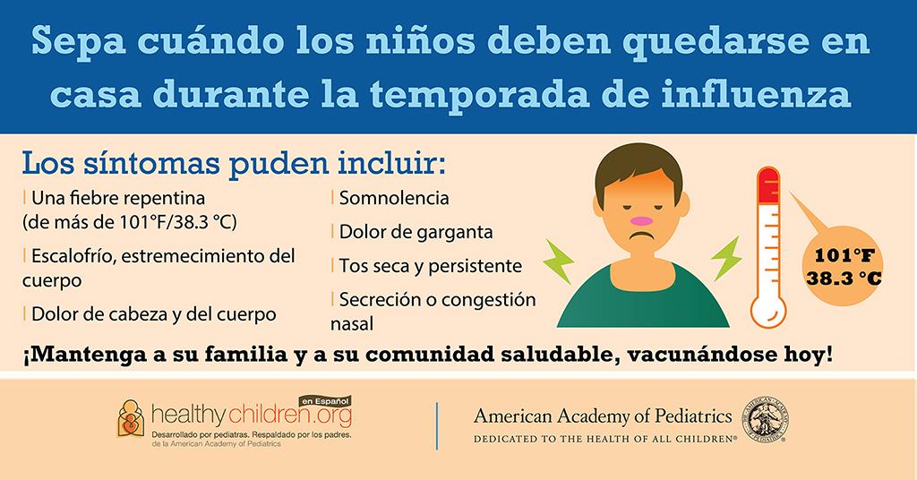 La Gripe Influenza Healthychildrenorg