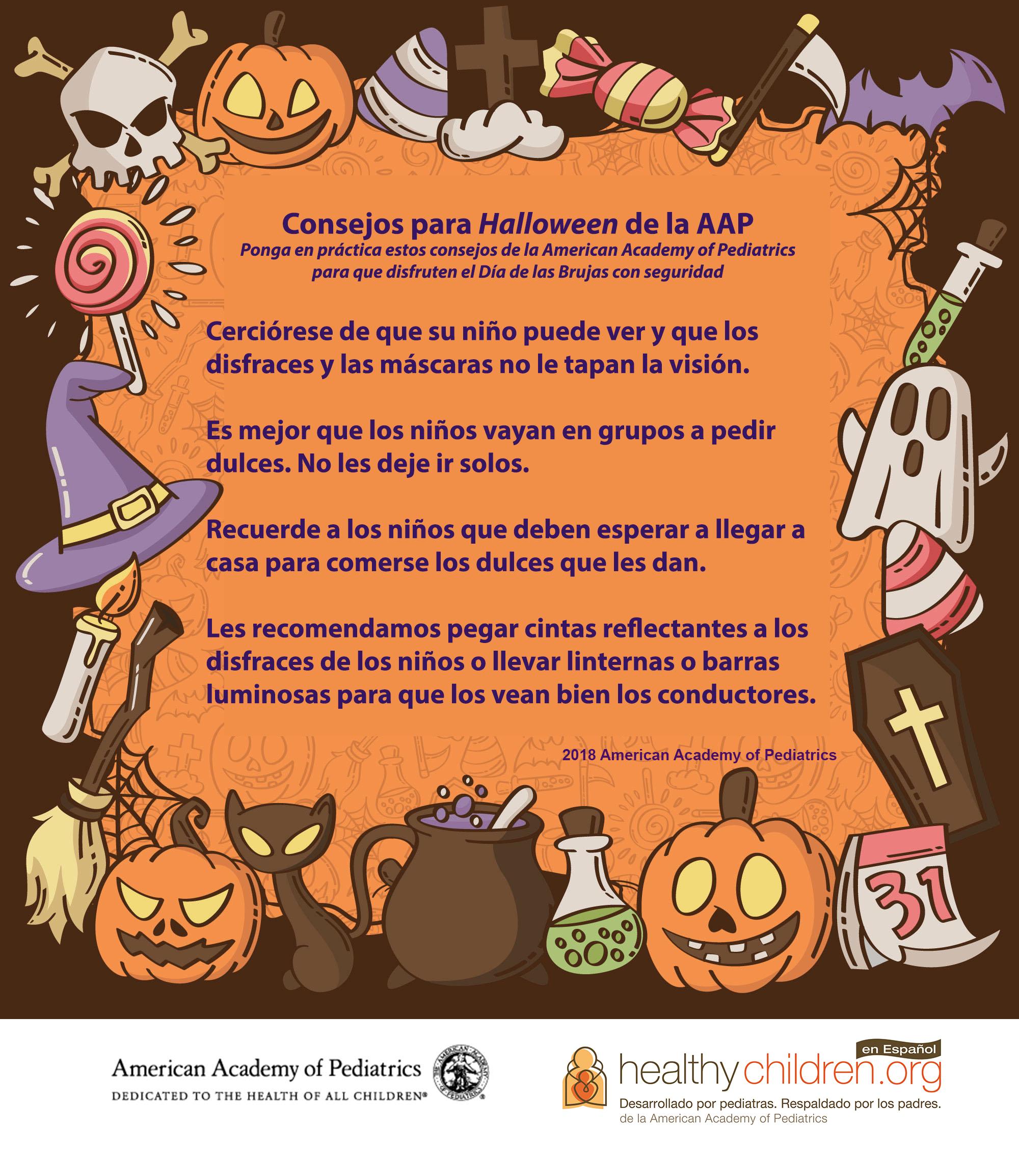 Medidas Para Una Buena Salud Y Seguridad En Halloween