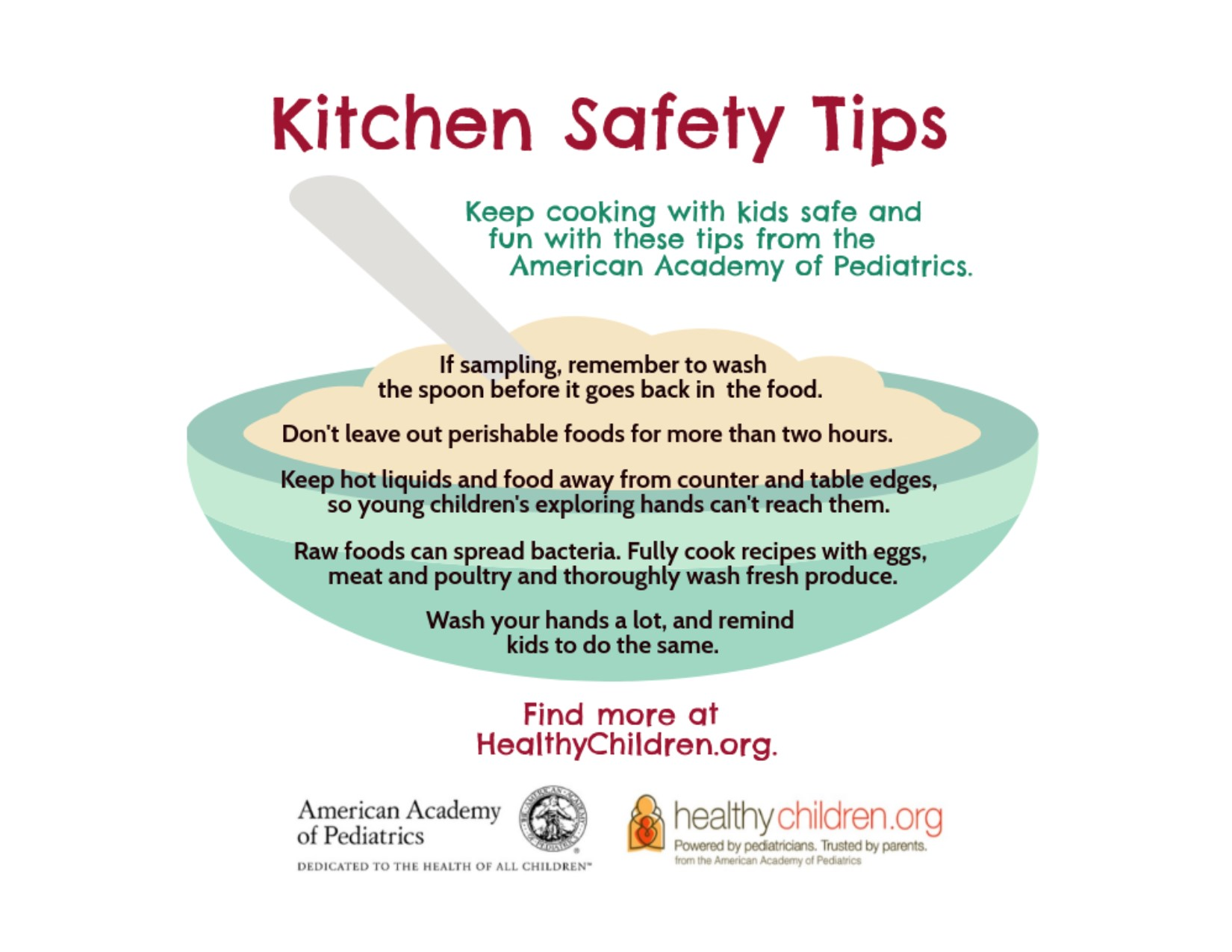 Holiday Food Safety Tips - HealthyChildren.org