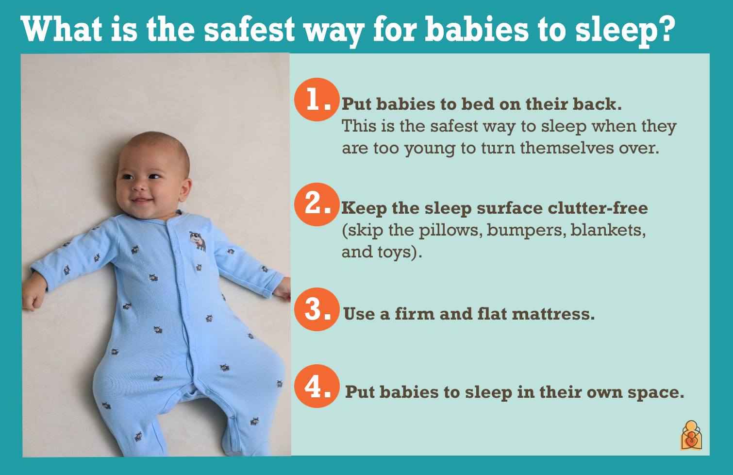 Sleep soundly while your baby sleeps safe tips from the aap