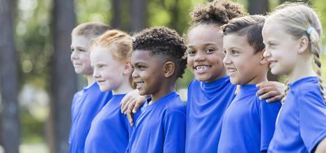 Kids sports team.