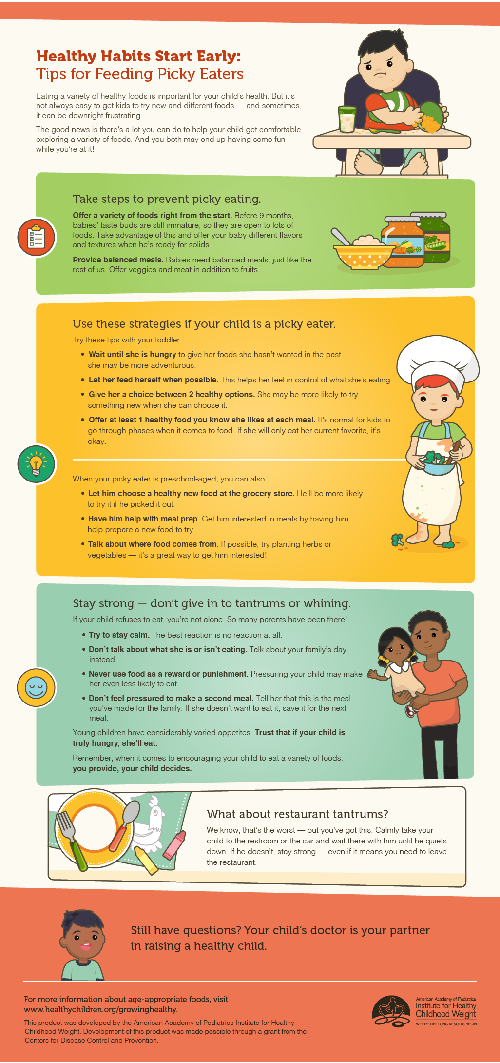 Infographic - Tips for Feeding Picky Eaters