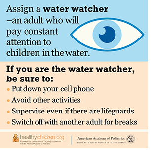 Assign a water watcher.