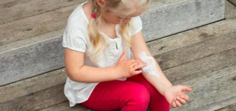 alergias en la piel en ninos de 2 anos