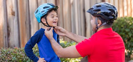 How To Get Your Child To Wear a Bicycle Helmet