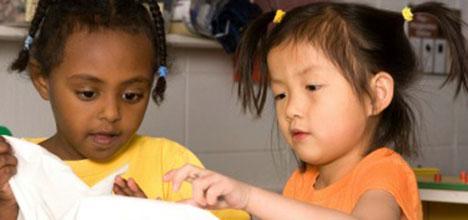 Уменьшение распространения болезней в уходе за детьми