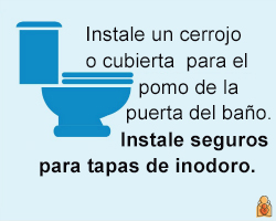Install latches on toilets - HealthyChildren.org